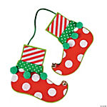 Elf Feet Ornament Craft Kit