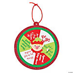 Elf Spinner Ornament Craft Kit