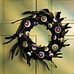 Eyeball Feather Wreath