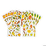 252 Fabulous Fall Leaves! Stickers