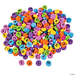 Fabulous Foam ABC Beads