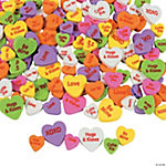 Fabulous Foam Conversation Heart Bead Assortment