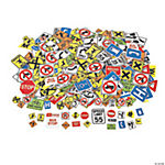 Fabulous Foam Self-Adhesive Safety Signs Shapes