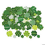 Fabulous Foam Self-Adhesive Shamrock Shapes