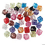 Faceted Cube Bead Assortment
