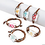 Faith Icons in Stones Bracelets