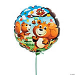 Fall Critters Mylar Balloons