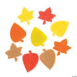 Fall Leaf Self-Adhesive Jewels