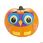 Fall Owl Pumpkin Decorating Craft Kit