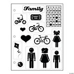 Family Clear Stamp Assortment