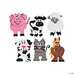 Farm Animal Magnet Craft Kit