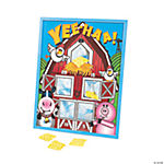 Farm Party Bean Bag Toss Game