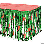 Fiesta Table Skirt with Cutouts