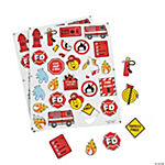 Fire Safety Self-Adhesive Shapes