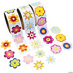 Flower Rolls of Stickers Assortment