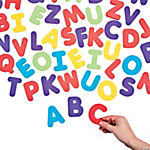 Foam Magnetic Letters - Uppercase Letter Set