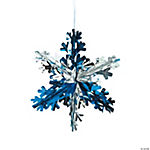Foil Snowflake Decorations
