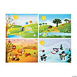 Four Seasons Sticker Scenes
