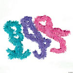 Fringe Boa Assortment