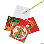 Funny Gingerbread Notepads