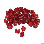 Garnet Crystal Bicone Beads - 8mm
