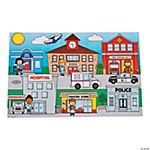 Giant Community Helpers Sticker Scenes