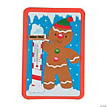 Gingerbread Thermometer Magnet Craft Kit