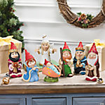Gnome Nativity Set