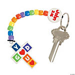 God Loves You Key Chain Craft Kit
