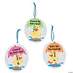 """God's Got You Covered"" Ornament Craft Kit"