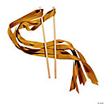 Gold Ribbon Wands