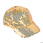 Gold Sequin Baseball Hat