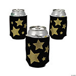 Gold Star Black Can Covers