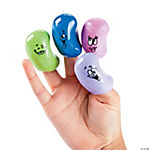 Goofy Face Jelly Bean Finger Puppets