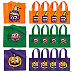 Googly Eye Halloween Totes