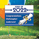 Graduation Personalized Yard Sign