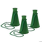 Green Megaphone Necklaces