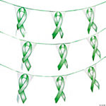 Green Ribbon Pennant Banner