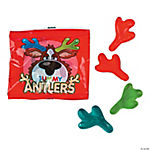 Gummy Antler Candy Fun Packs