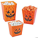 Halloween Candy Buffet Buckets