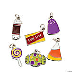 Halloween Candy Kid Enamel Charms