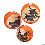 Halloween Silhouette Party Lanterns