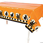 Halloween Silhouette Tablecloth