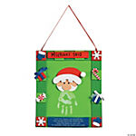Handprint Santa Hanging Christmas Craft Kit