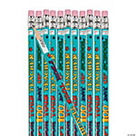 Happy 100th Day of School Pencils