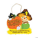 Harvest Inspirations Bible Verse Sign Craft Kit