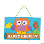 Harvest Owl Sign Craft Kit