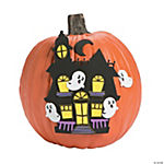Haunted House Pumpkin Decorating Craft Kit