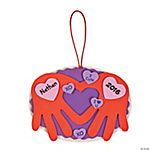 Heart Handprint Craft Kit