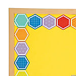 Hexagon Bulletin Board Borders